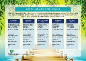 willowbridge mental health week activity chart